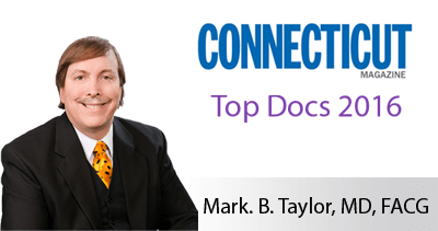 We proudly announce Mark Taylor, M.D. has been selected as a 2016 Connecticut Magazine Top Doc