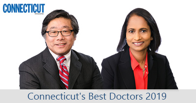 We proudly announce Doctor's Alaparthi and Chang have been selected as 2019 Connecticut Magazine Best Doctors